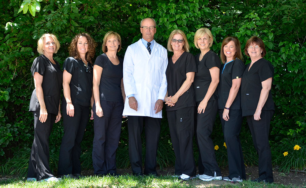Team members of dentist office Fox Dental Excellence in Mason, OH.